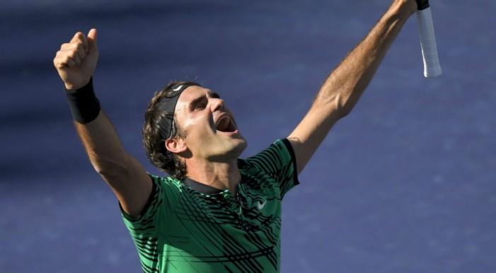 Федерер преку Вавринка до титулата во Индијан Велс