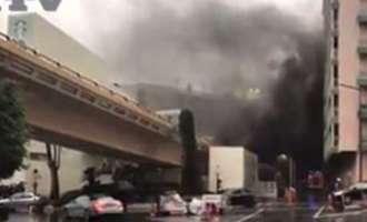 (ВИДЕО) Монте Карло под блокада: Вооружен грабеж на холивудски начин – ограбена продавница за накит, имало пожар и полициска потера
