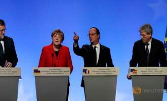Оланд, Меркел, Рахој и Џентилони за ЕУ во повеќе брзини