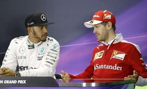 Хамилтон: Ферари е фаворит; Фетел: Не, вие сте фаворити