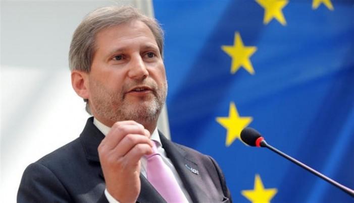 Еврокомесарот Хан во Скопје