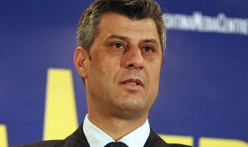 Хашим Тачи  Косово ќе изгради својата армија во соработка со меѓународните фактори