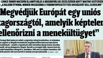 """Иванов за """"Magyar Hírlap"""": Нови предвремени избори се можен излез од кризата"""