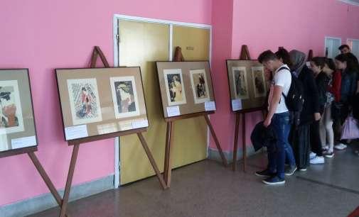 Изложба на јапонски сликари во Дебар