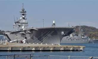 Јапонија планира да го испрати најголемиот воен брод во Јужното кинеско море