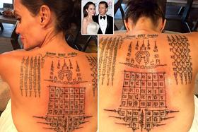 Новите тетоважи на Анџелина Џоли не и го спасија бракот