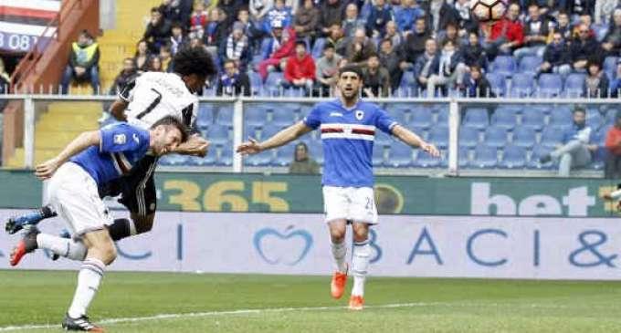 Јувентус ја победи Сампдорија, но го загуби Дибала