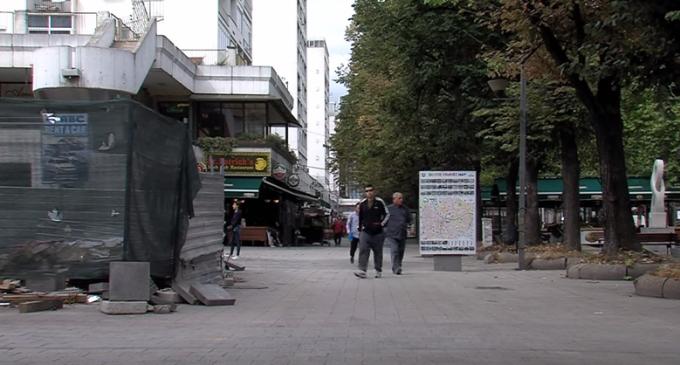 Општина Центар ги сопре градежните активности на кејот на Вардар