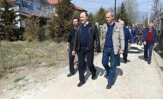 Продолжува акцијата за асфалтирање на оштетените улици во Инџиково