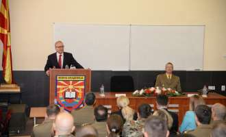 Започна курсот за офицери во Воената академија