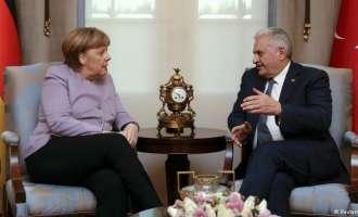 Јилдирим го оцени како продуктивен разговорот со Меркел