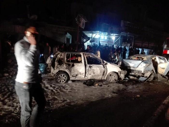 Најмалку 23 загинати во експлозија на автомобил-бомба во Багдад