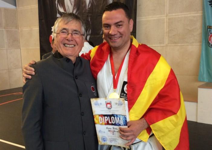 """Дејан Недев """"златен"""" на Фудокан купот во Виена"""