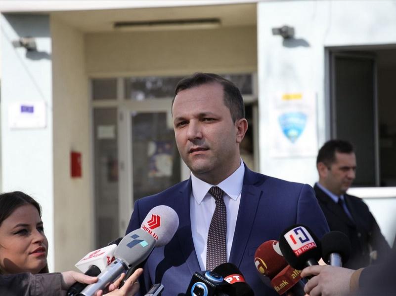 Оливер Спасовски на распит во Обвинителство