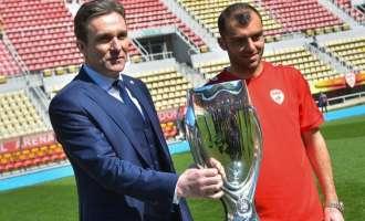 Пандев амбасадор на УЕФА за Суперкупот