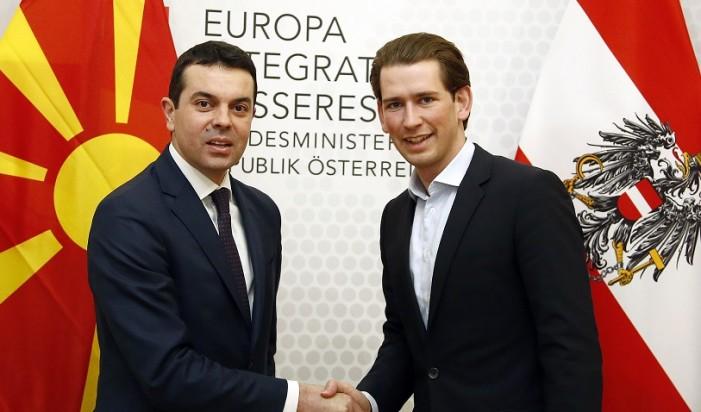 Попоски-Курц: Македонија во ЕУ е наједноставна гаранција за мир и развој во регионот