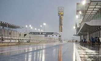 Дождот не дозволи да има квалификации во Мото ГП