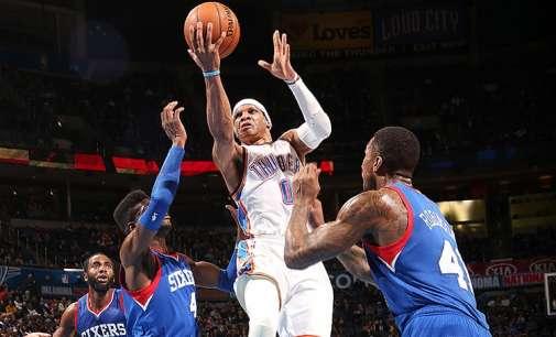НБА историја: Вестбрук до трипл-дабл без промашен шут