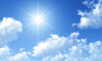 Сончево со умерена облачност