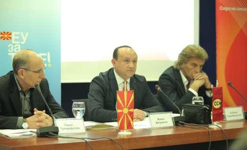 ССМ го промовираше предлог протоколот за социјален напредок
