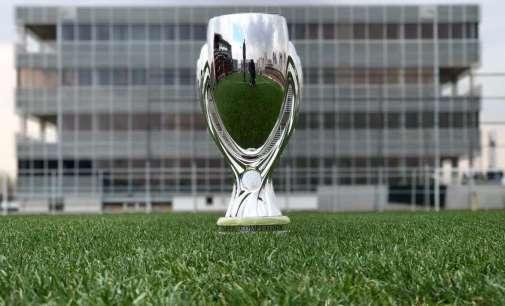 УЕФА Суперкуп трофејот е во Скопје, ФФМ в сабота организира фотографирање со пехарот