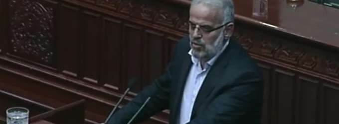 Беса не го поддржува Талат Џафери за кандидат за претседател на Собранието на РМ