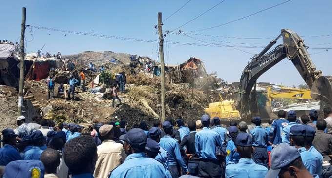Најмалку 24 загинати во свлечиште во Етиопија