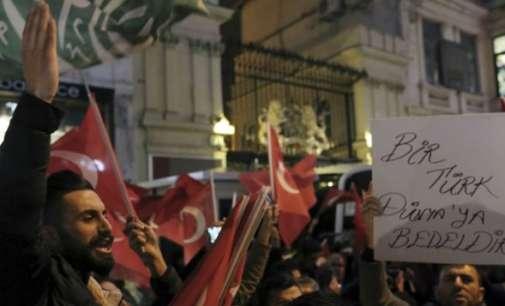 Ротердам дозволи протест на Турците против холандската полиција