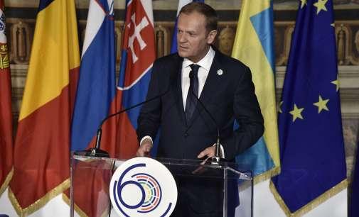 Туск кон лидерите на ЕУ: Европа како политички субјект или ќе биде обединета или воопшто нема да постои
