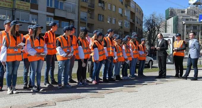 Училишна сообраќајна единица за поголема безбедност