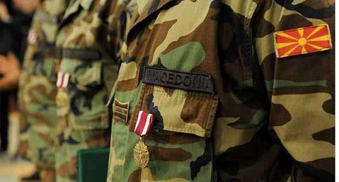 Свеченост по повод приемот на новите 90 професионални војници во АРМ
