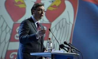Вучиќ остро реагирал во телефонски разговор со Тачи во врска со косовската војска