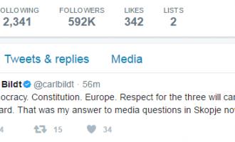Билд: Во демократски земји се почитува уставот