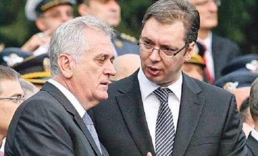 Вучиќ и Николиќ ги рзгледувале заканите на албанските политичари