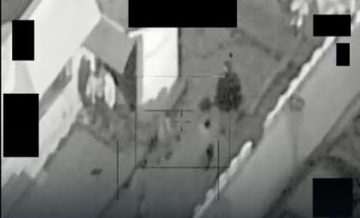 Американски дрон се обидувал да разнесе терористи кои користеле цивили како жив штит