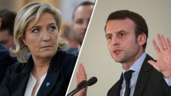 Претседателски избори во Франција: Ле Пен и Макрон одат во вториот круг