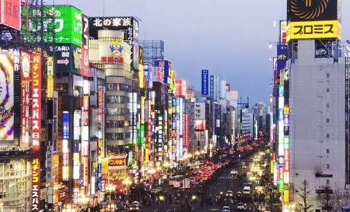 Во првиот квартал од годината Јапонија ја посетиле повеќе странци