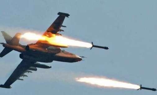 (ВИДЕО) Руски воени авиони погодија база на џихадисти