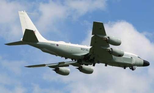 (ФОТО) Голем неуспех на британски шпионски авион крај Калининград