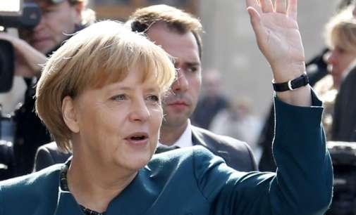 Меркел самоуверено чекори кон нов мандат