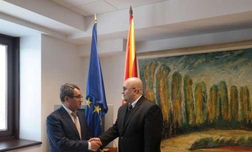 Заменик-министерот за надворешни работи Исајловски оствари средба со турскиот колега Ахмет Јалдаз