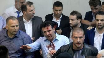 МВР поднесе 15 кривични пријави за претепувањето на пратениците во Собранието