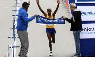 Кениец и Србинка победници на Белградскиот маратон