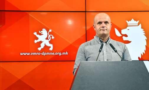ВМРО-ДПМНЕ: Изјавата на Лата го уништува духот на соживотот, а е предизвикана од ветувањата на Заев