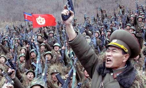Северна Кореја започна голема воена вежба
