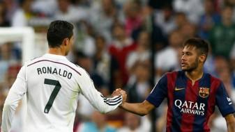 """Поради неспортско однесување, Роналдо и Нејмар """"висат"""" за Ел Класико"""