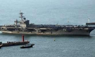 Пјонгјанг подготвен да го потоне американскиот носач на авиони