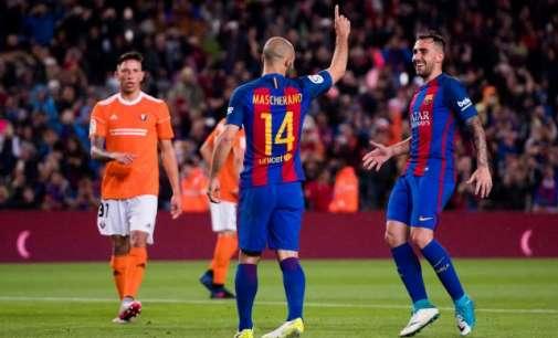 Барса ја декласира Осасуна, Ла Коруња без шанси против Реал (Видео)