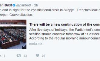 Карл Билд во Скопје – со кого ќе се сретне и со каква цел доаѓа