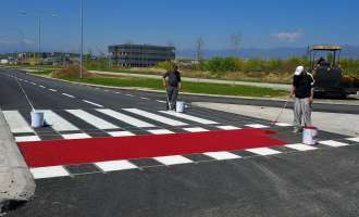 Завршени градежните активности на дел од булеварот АСНОМ